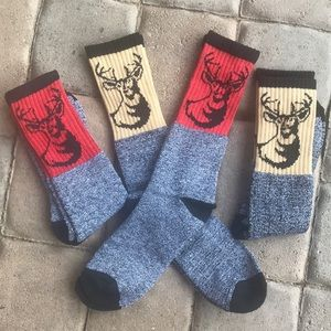 "Brand new men's ""Deer"" socks"